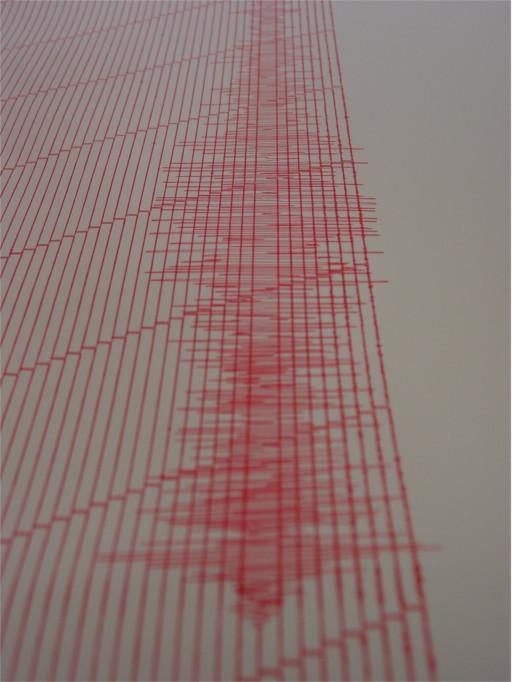 Seismogramm - Italien 2009